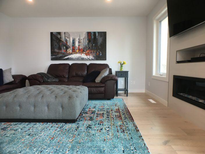 home renovations with rustic hardwood flooring