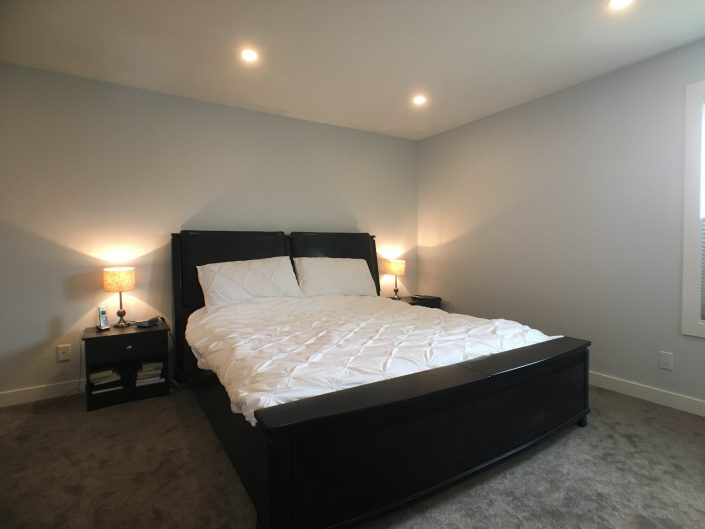 grey carpet and paint in renovations