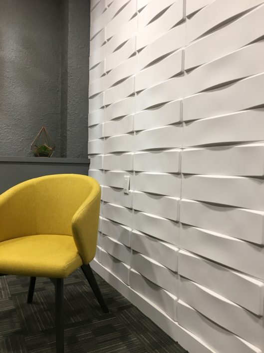 commercial renovations custom wall panelling