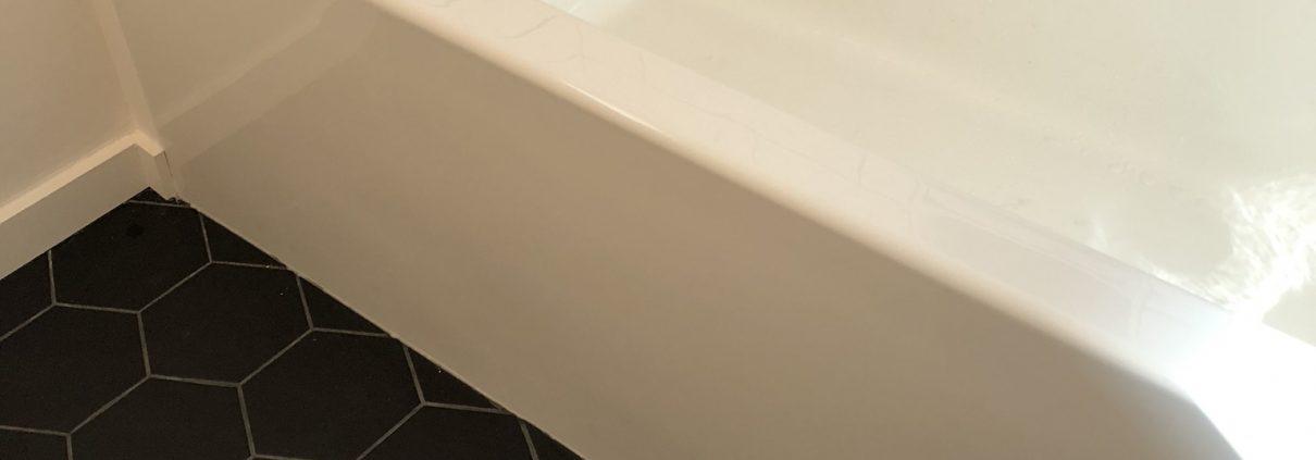bathroom renovations regina black and white