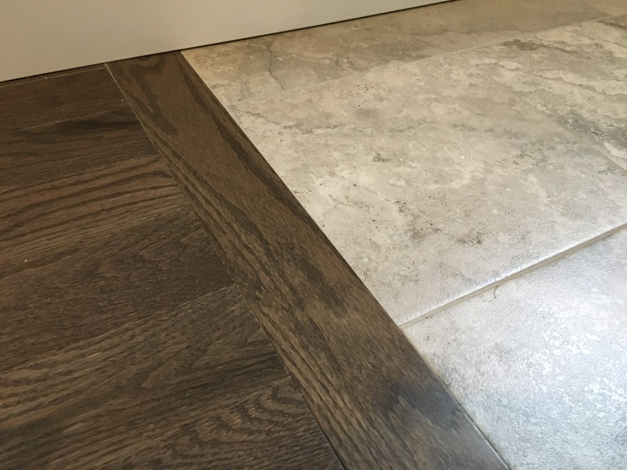 hardwood installation transition