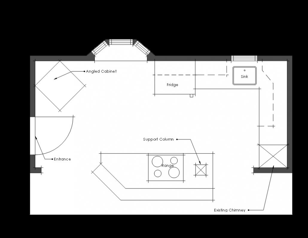 original kitchen floor plan